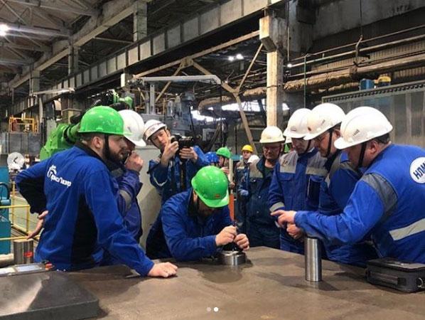 Компания Термолазер провела презентацию мобильного роботизированного комплекса для ОАО «НЛМК» (Новолипецкий металлургический комбинат)