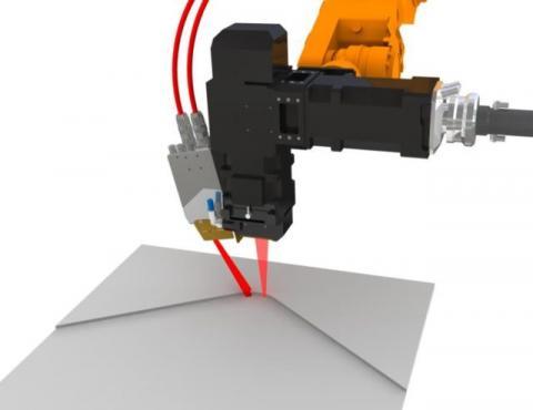 Cканирующий лазерный датчик ЛД2